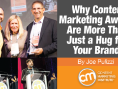 Why Content Marketing Awards Are More Than Just a Hug for Your Brand