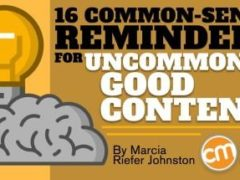 16 Common-Sense Reminders for Uncommonly Good Content